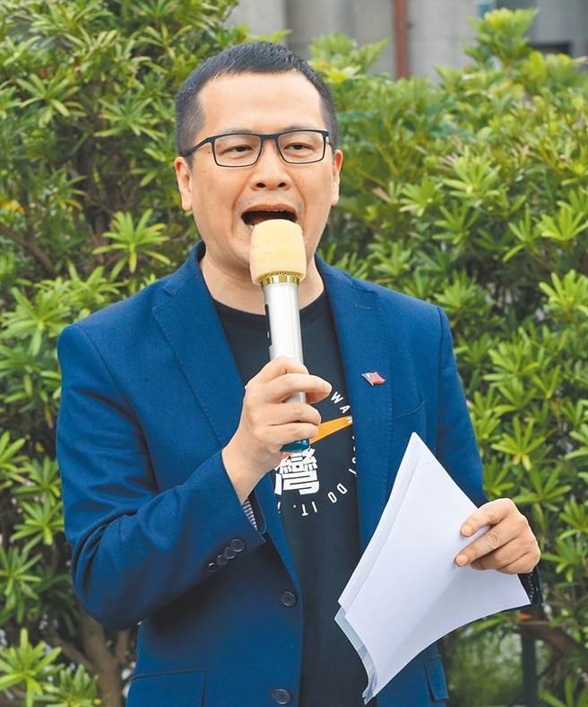台北市議員羅智強。(本報資料照片)