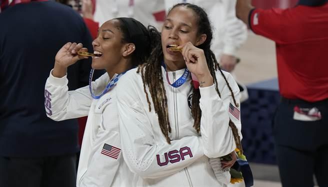 美國連三屆稱霸奧運獎牌榜(美聯社)