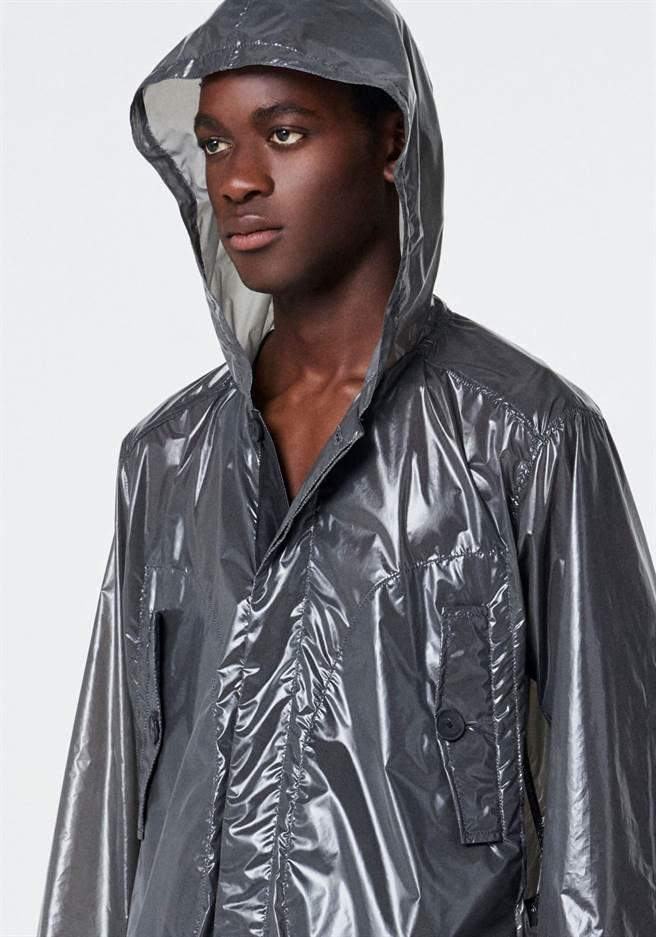 吳昕威的自創男裝品牌PETER WU融入運動休閒風,用料 講究。(PETER WU提供)