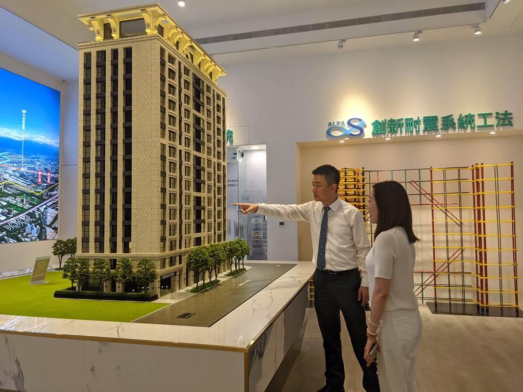 今年Q1房貸數量以35~40歲族群最多,7年級生成為目前房市主力買盤。(圖/葉思含攝)