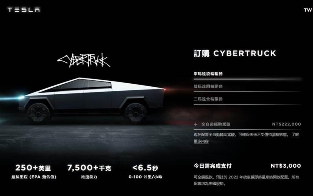 今年確定無望!特斯拉宣布Cybertruck延遲至2022年上市(圖/DDCar)