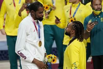 東奧》男籃最佳五人出爐 籃網隊友杜蘭特、米爾斯入選