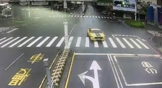 200萬野馬跑車亂竄台南街頭  逆向蛇行闖紅燈通通來