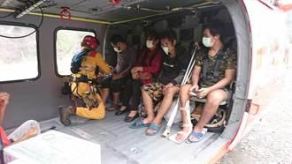 高市桃源3部落成孤島 市府申請二架次直升機運補千斤物資