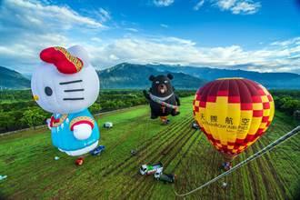 一波三折 台東熱氣球嘉年華首場遊客僅百餘人
