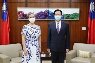 孫曉雅拜會外交部 強調台灣在美國享有跨黨派支持