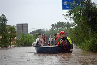 四川省遭遇強降雨 44萬餘人受災
