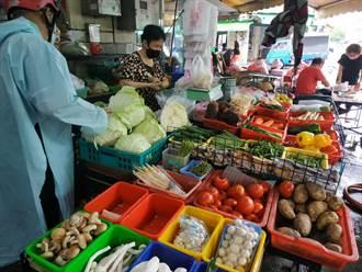 連日豪雨雲林葉菜類均價破60元 高麗菜1顆200以上