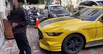 富少開「野馬」逆向闖紅燈囂張稱「練車」 台南警爆怒