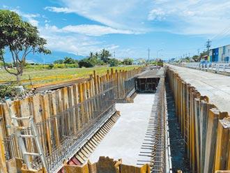 花蓮193縣道南濱段第2期 明年底完工