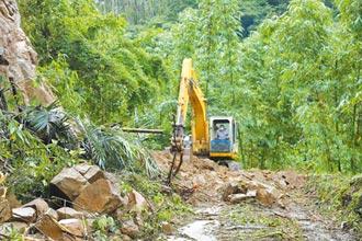 阿里山公路搶通 嘉義急修40處坍塌