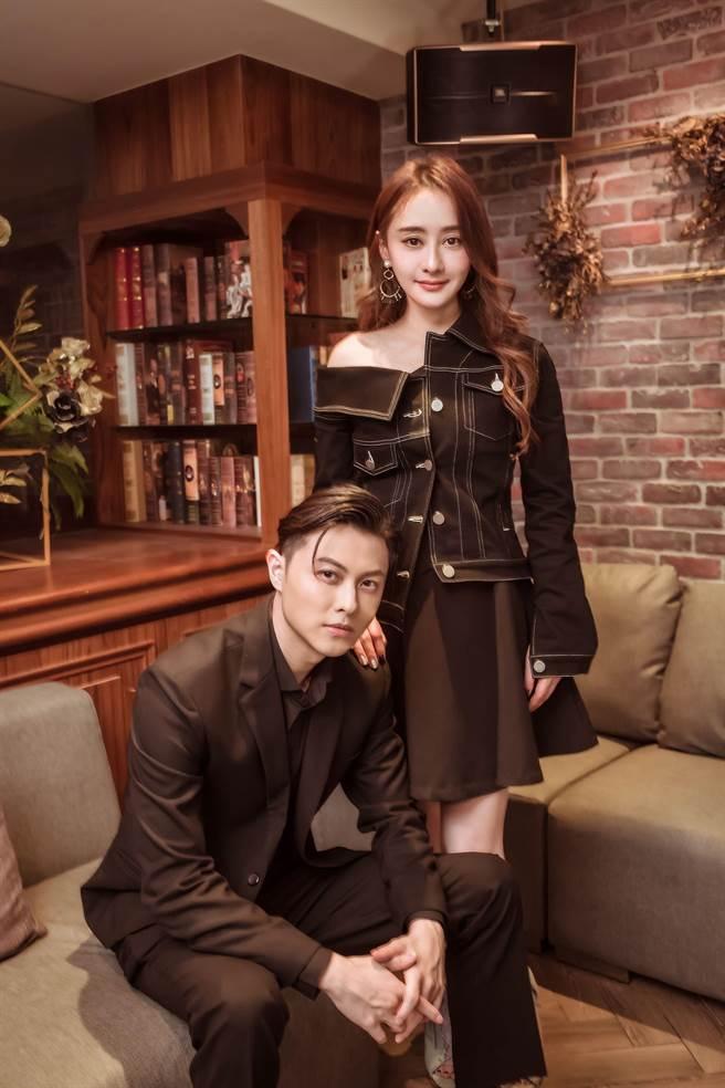 王子在片中飾演黑道兄弟,陳德容則飾演酒店老闆娘。(禾力文創提供)