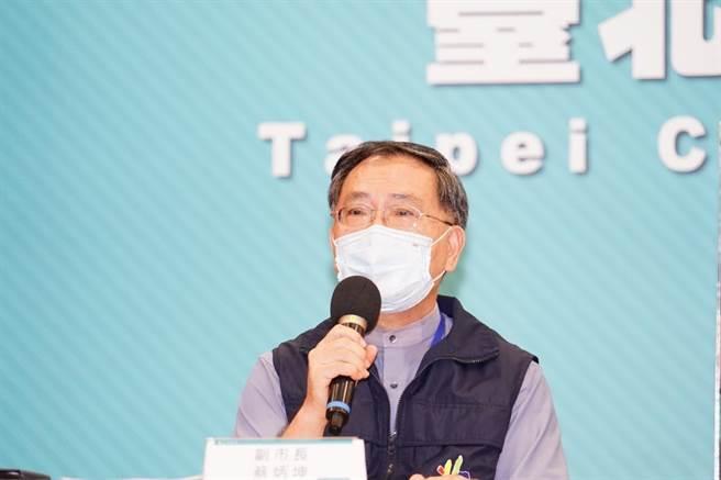 北市副市長蔡炳坤。(台北市政府提供)