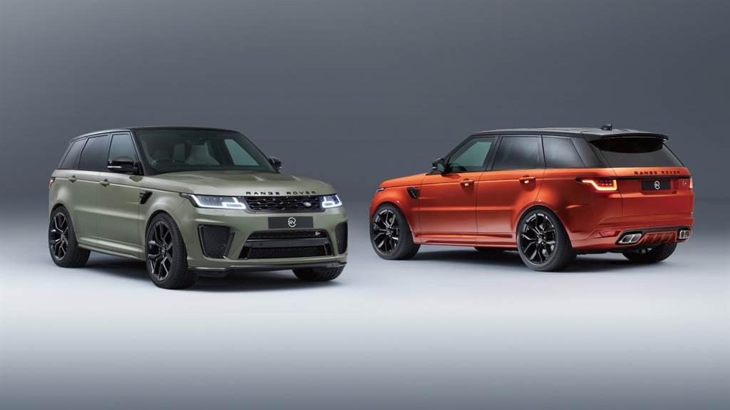 2022年式Range Rover Sport SVR由SVO特製車部門推出L'Orange與Avocado兩款SV Bespoke專屬特製車色特仕版,提供頂級層峰買家鑑賞收藏。(圖/品牌提供)