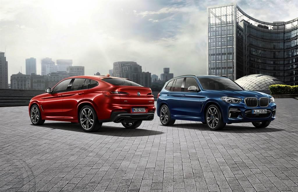 本月入主BMW X3、X4白金領航版加贈一年乙式全險,提供150萬60期0利率、首期免付優惠。(圖/品牌提供)