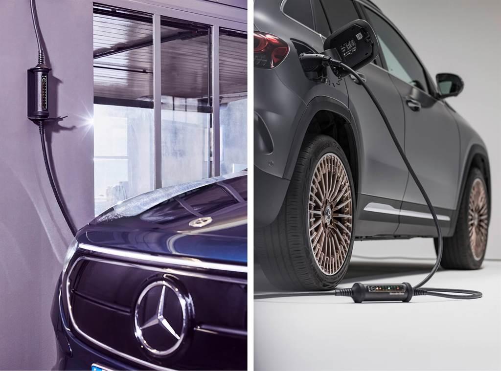 Mercedes-Benz為EQ車系和插電式混合動力車款推出新型「萬用」充電器(圖/CarStuff)