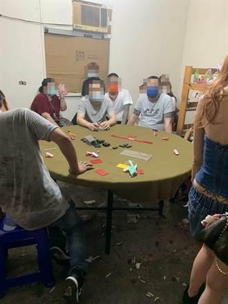 猖狂賭徒 桃園警破52人大賭場裁罰近400萬