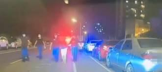 毒蟲開贓車遇警攔 闖紅燈撞傷騎士棄車逃逸遭逮