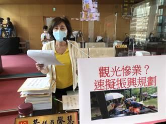 觀光業淪為慘業?中市議員要求市府擬定疫後振興規畫