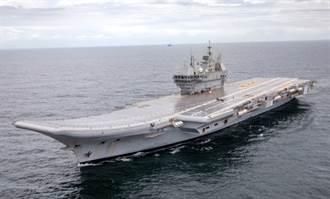 與陸抗衡 印度打造第3艘航母搞不定