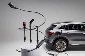 Mercedes-Benz為EQ車系和插電式混合動力車款推出新型「萬用」充電器