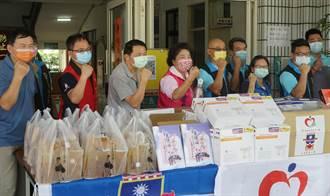 力挺霧峰大里警消 民代團體等捐贈防疫用品