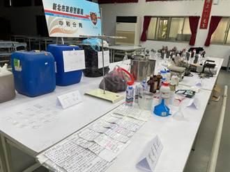 新北警破製毒工廠  製毒品管手冊曝光條列「注意事項」