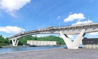 南方澳跨港大橋重建 橋梁造型採用鯖魚意象