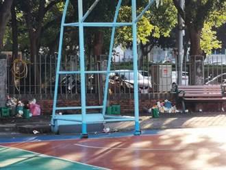 新竹市警戒降級民眾公德心解封 公園被丟滿垃圾里長氣炸
