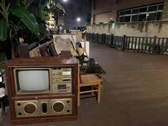 家庭廢棄物見古董電視機 網一看暴動求收:白花花的鈔票