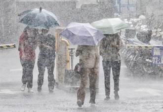 大雨還沒完 氣象局曝2波致災性天氣:隨時可能發生