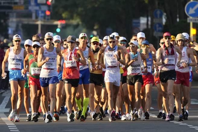 男子50公里競走流傳數十年,是奧運最嚴酷且意外存活至今的競技。(美聯社資料照)