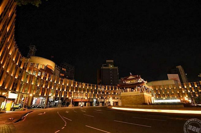 200年古蹟東門城變身「光之島」 優人神鼓15日晚線上演出。(圖:新竹市政府提供)