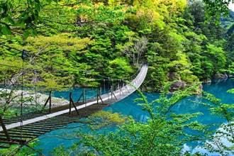此生必去絕景 靜岡夢之吊橋 考驗勇氣的許願聖地