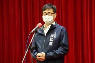 朱立倫訪高雄尋支持 陳其邁:救災期間綁樁令人遺憾