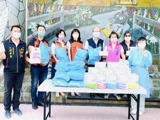 楊瓊瓔、吳顯森牽線 記帳士公會及企業家捐防護衣、口罩