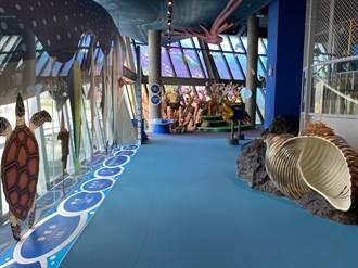 海科館開放主題館 兒童廳迎接小朋友參觀體驗