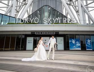 東京晴空塔破例開放婚紗攝影、包場