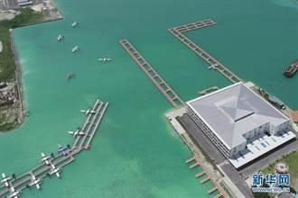 一帶一路成果 中企承建馬爾地夫國際機場航廈交付使用