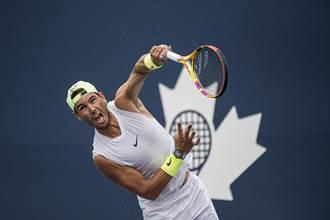 網球》左腳受傷 納達爾退出多倫多賽事