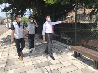 陽明交大釋出校園空間改造 建功國小通學步道進化了