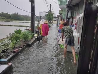 大雨淹八德惹民怨 桃園水務局逐一會勘視察