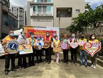 台南實物銀行獲國際獅子會300D-1區捐物資巡迴車