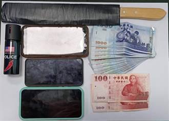 花24.6萬元買毒遭設局黑吃黑還被砍 台南警逮2嫌