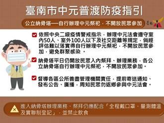 台南中元普度 已有8廟提防疫計畫辦法會
