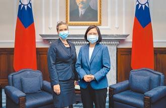 蔡英文:朝簽署雙邊貿易協定努力