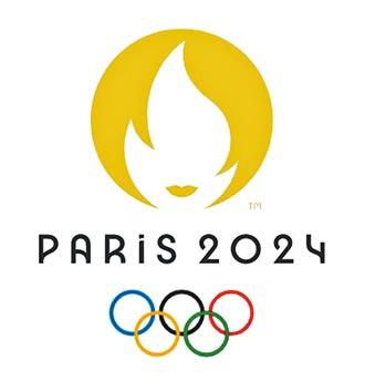 巴黎奧運LOGO 致敬女性運動員