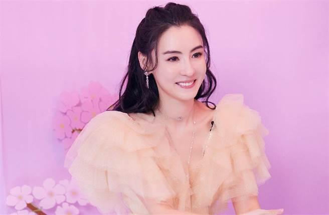 香港女星張柏芝。(圖/ 摘自張柏芝工作室微博)