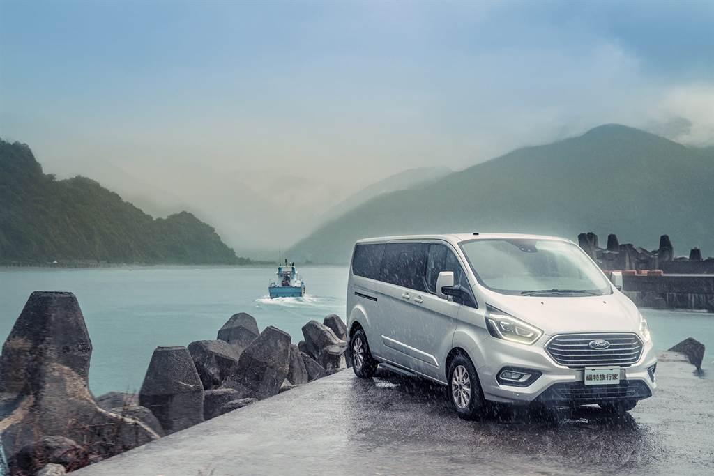 Ford Tourneo Custom福特旅行家提供豪華、舒適的乘坐體驗,帶領旅人走訪礁溪晶泉丰推薦秘境海灘東澳粉鳥林漁港感受海灣美景。(圖/業者提供)