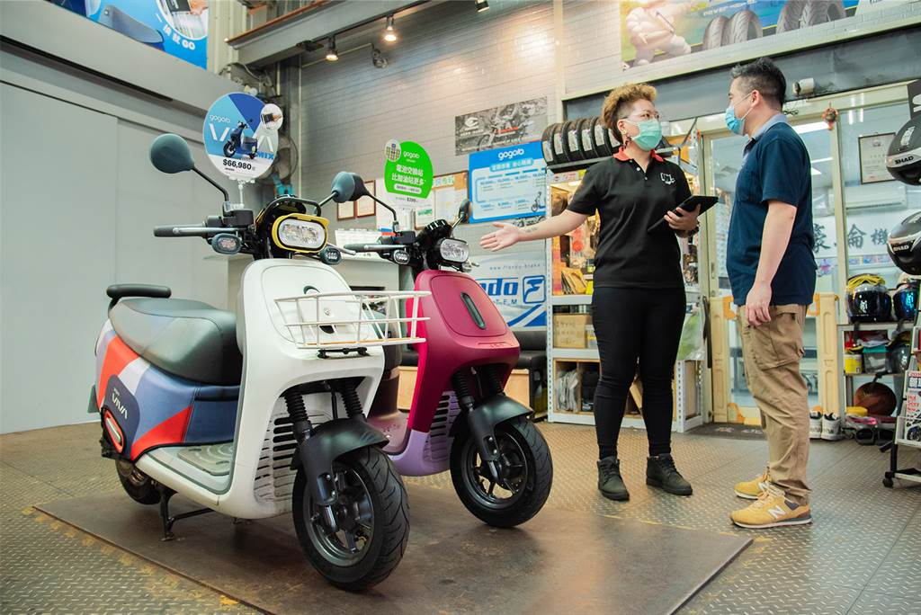 未來,換你出發!Gogoro助機車行打造智慧電動機車一站式服務(圖/CarStuff)